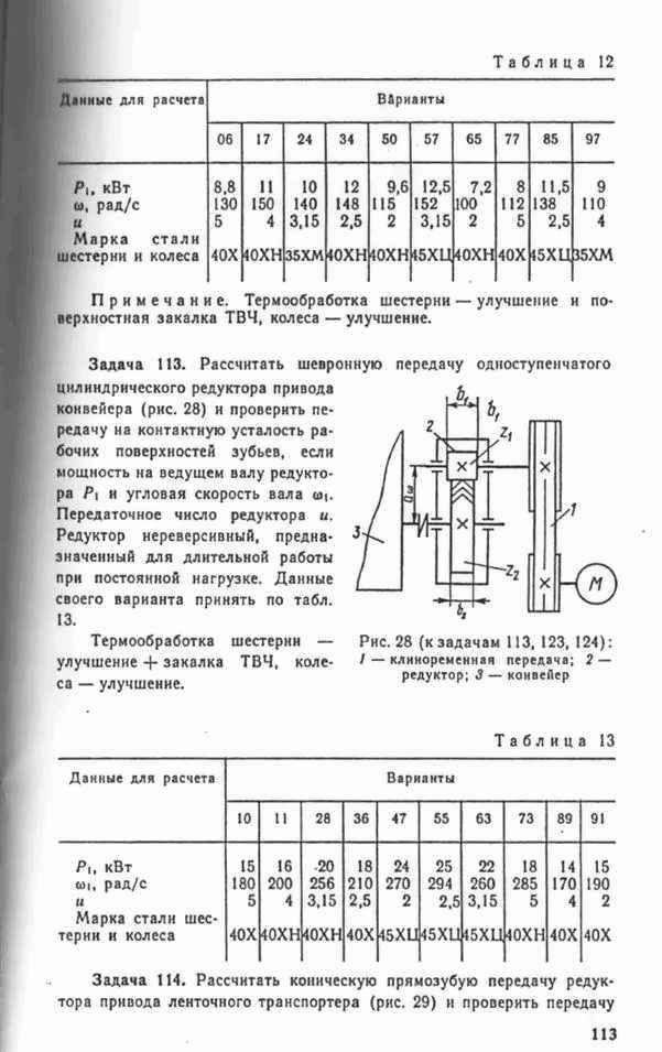 Передаточное число редуктора конвейера транспортеры для кормораздатчика